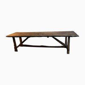 Vintage Tisch aus Eichenholz, 1920er