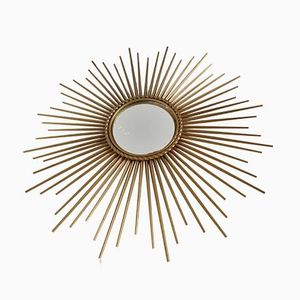 Domed Sun Mirror from Vallauris, 1960s