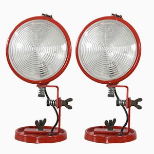 Jeep Wall Lights by Franca Stagi and Cesare Leonardi for Lumenform, Set of 2