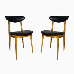 Modell Unicorn Stühle von Baumann, 1960er, 2er Set