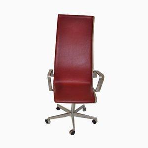 Vintage Oxford Model 3192 Armchair by Arne Jacobsen, 1960s