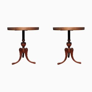 Nutwood Tables, 1950s, Set of 2