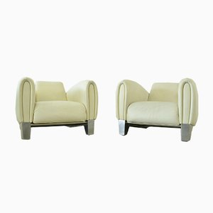 DS57 Bugatti Lounge Chairs by Franz Romero for de Sede, 1990s, Set of 2