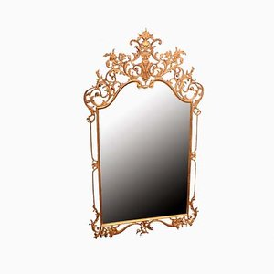 Italian Bronze Mirror, 1900s