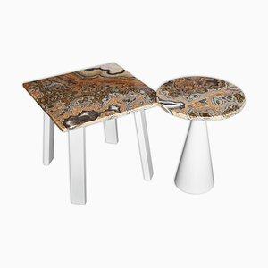 Tavolini da caffè in onice di Cupioli Luxury Living, 2018