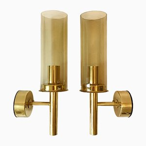 Model V169 Wall Lights by Hans-Agne Jakobsson, 1960s, Set of 2