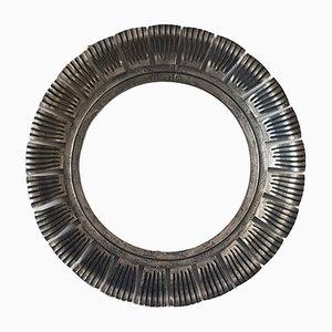Specchio vintage a forma di sole di Ferro Art, anni '60