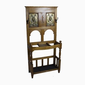 Antique Arts & Crafts Hall Stand