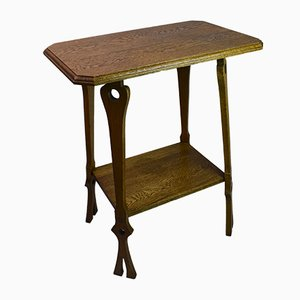 Table d'Appoint Arts & Crafts Antique