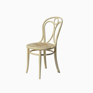 Austrian Bentwood Embroidered Dining Chair from Thonet, 1890s