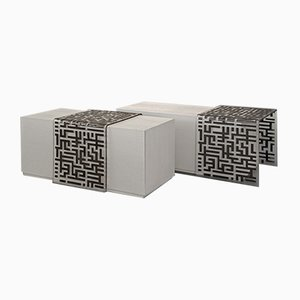 Flair 2 Coffee Tables by Wael Farran Studio, Set of 2