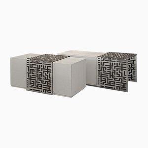 Tavolini da caffè Flair 2 di Wael Farran Studio, set di 2