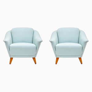 Vintage Swedish Armchairs, 1960s, Set of 2
