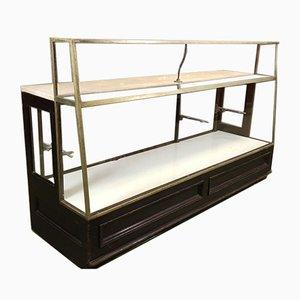 Vintage Mahogany Patisserie Counter