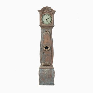 Antique Rococo Swedish Mora Clock