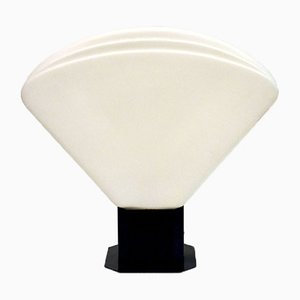Opaline Glass Table Lamp from VeArt, 1970s
