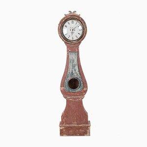 Reloj de caja alta noruego, siglo XVIII