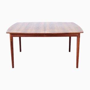 Tavolo da pranzo allungabile in palissandro, anni '60