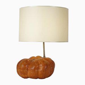 Vintage Pumpkin Lamp, 1970s