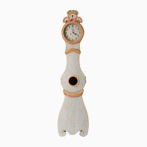 Antike schwedische Mora Uhr im Rokoko-Stil