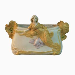 Art Nouveau Bowl from Royal Dux, 1900s