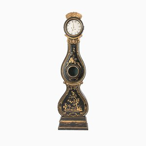Antique Rococo Mora Clock from Fryksdalen