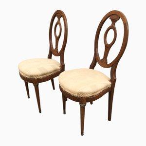 Sedie Napoleone III antiche, set di 2