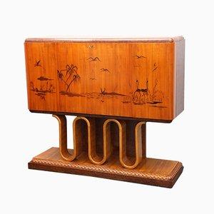 Vintage Bar Sideboard