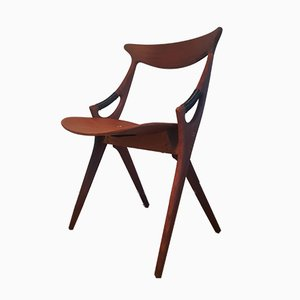 Chaise Modèle 71 par Arne Hovmand Olsen pour Mogens Kold, 1950s