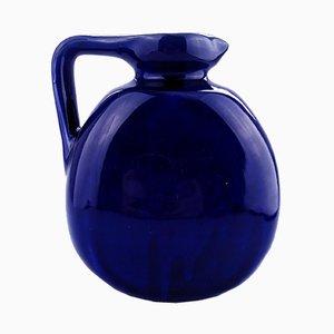 Antike blaue Kanne von Bourne Denby