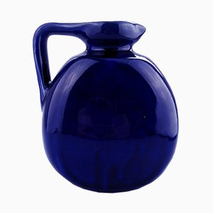 Antique Blue Flask from Bourne Denby