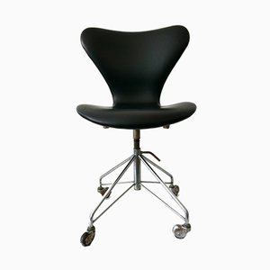 Mid-Century Modern 3117 Office Chair by Arne Jacobsen for Fritz Hansen, 1960s