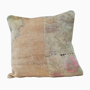Funda de cojín Oushak grande de Vintage Pillow Store Contemporary, década del 2010
