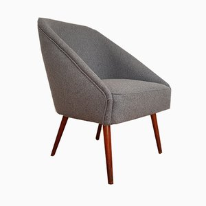 Wool Lounge Chair, 1970s
