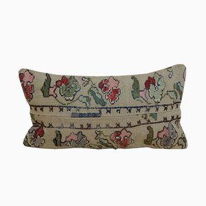 Aubusson Needlepoint Kilim Cushion Cover from Vintage Pillow Store Contemporary, 2010s