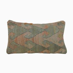 Türkischer Kelim Lumbar Kissenbezug von Vintage Pillow Store Contemporary, 2010er