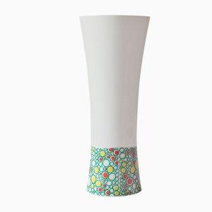 Weiße Vase von Krautheim, 1980er