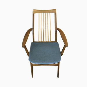 Mid-Century Danish Walnut Dining Chairs from Benze, Set of 2