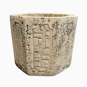 Vaso in pietra di Willow Craft, anni '90