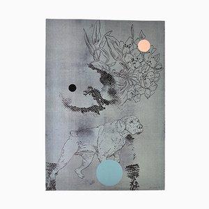 Siebdruck von Lars Grenaae, 1998