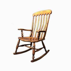 English Windsor Rocking Chair, 1900s