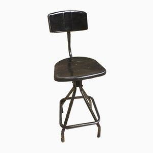 Silla alta francesa vintage, años 50