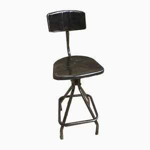 Vintage French High Chair, 1950s