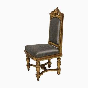 Antike Napoleon III Stühle mit Wasservergoldung, 1860er, 2er Set