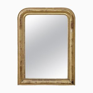 Antique Gilded Wood Wall Mirror, 1850s