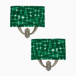 Mid-Century Italian Sconces, Set of 2