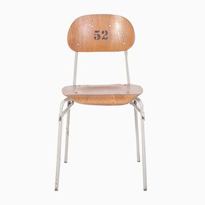 Sedia da scuola vintage, anni '60