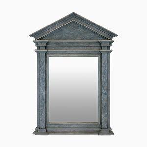 Specchio architettonico antico, anni '50