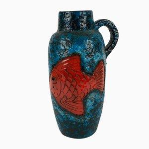 Vaso vintage di Scheurich, anni '70