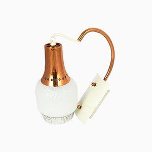 Moderne deutsche AKA Wandlampe, 1970er